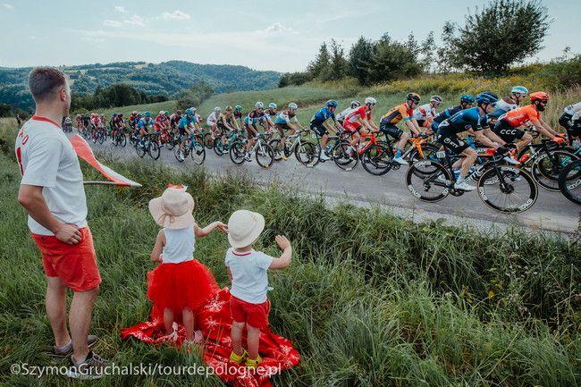Tour de Pologne – w poniedziałek 9 sierpnia 2021 – ograniczenia w ruchu drogowym na terenie gminy Bychawa