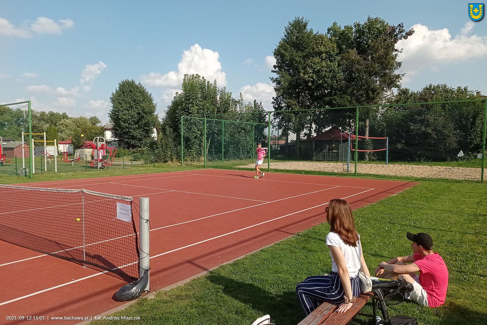 Finał X edycji Turnieju Tenisa Ziemnego o Puchar Burmistrza Bychawy – 12 września 2021 – zaproszenie