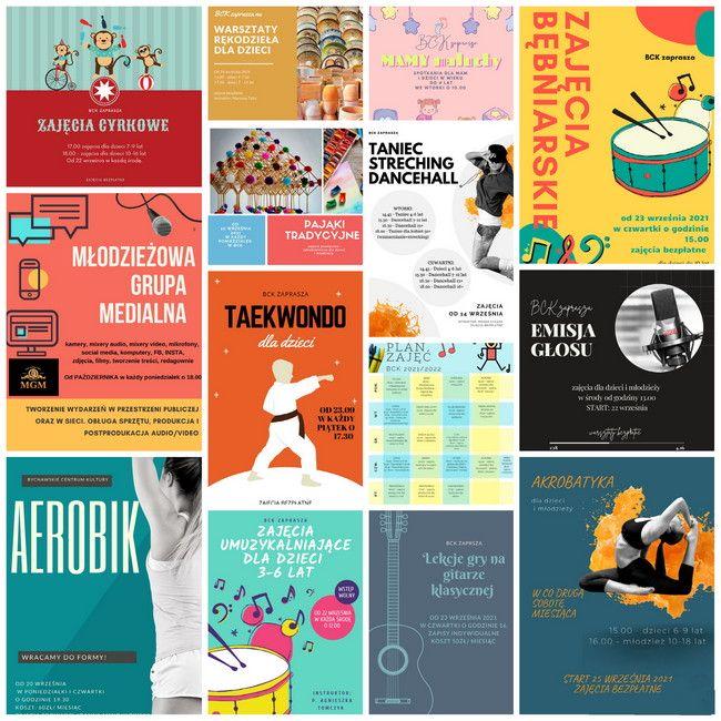Można zapisywać się na zajęcia  w Bychawskim Centrum Kultury w nowym sezonie 2021/2022
